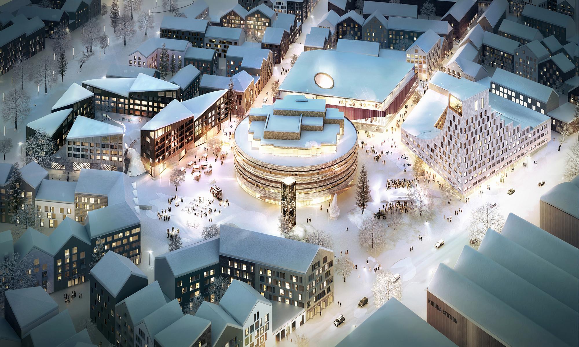 列维-基律纳丨探访艺术建筑冰酒店,冰雪世界野外活动