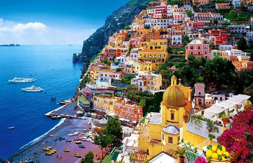 那不勒斯(Naples)- 卡普里岛(Capri) - 那不勒斯(Naples)