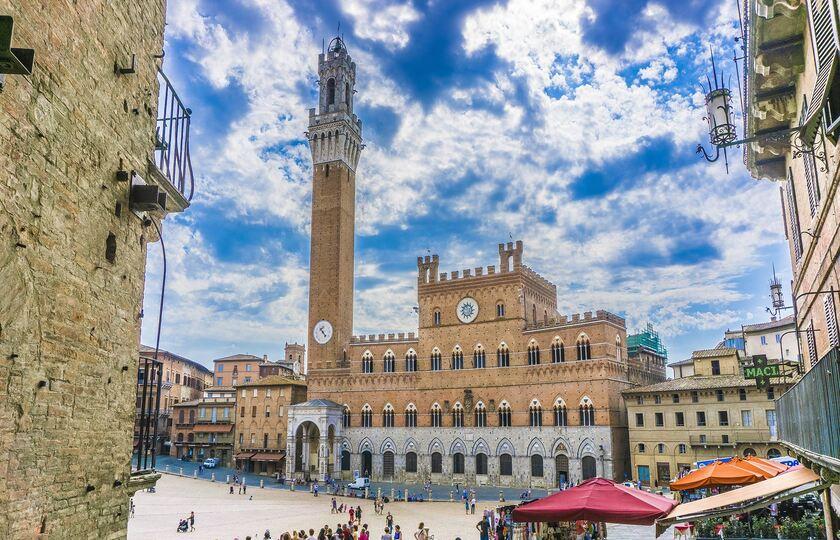 锡耶纳(Siena)– 奇维塔(Civita di Bagnoregio) – 罗马(Rome)