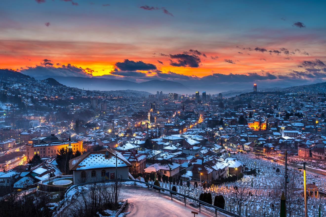 莫斯塔尔(Mostar)-萨拉热窝(Sarajevo) (129KM)