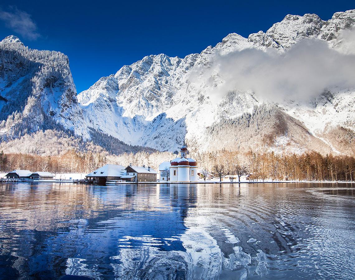 布莱德(Bled)-国王湖(Königssee)-萨尔茨堡(Salzburg)(261KM)