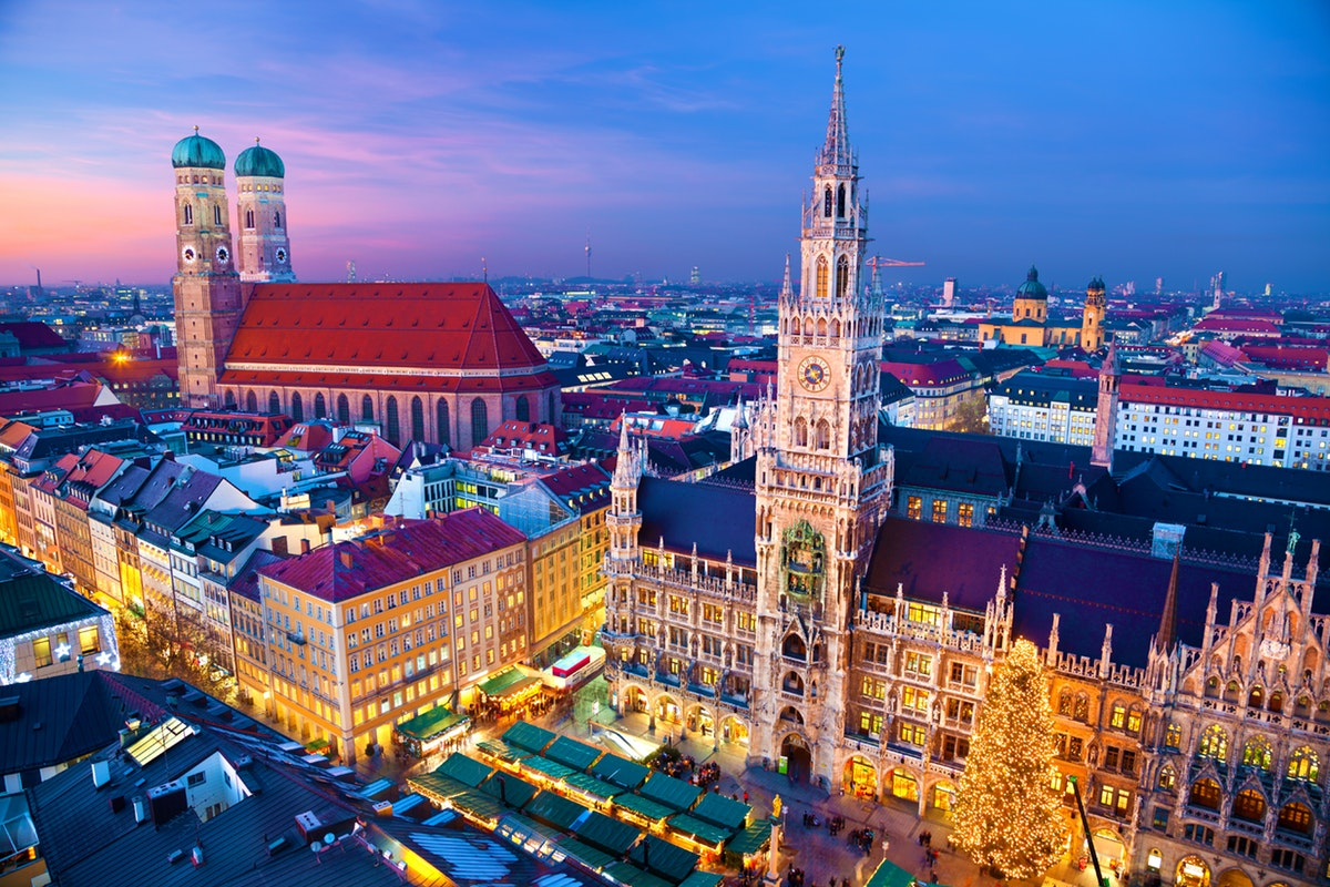 慕尼黑(Munich)-巴黎(Paris)