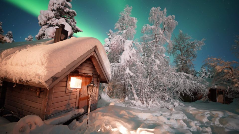 基律纳-吕勒奥丨极地丛林探险与营地烧烤、冰钓、滑雪、雪橇