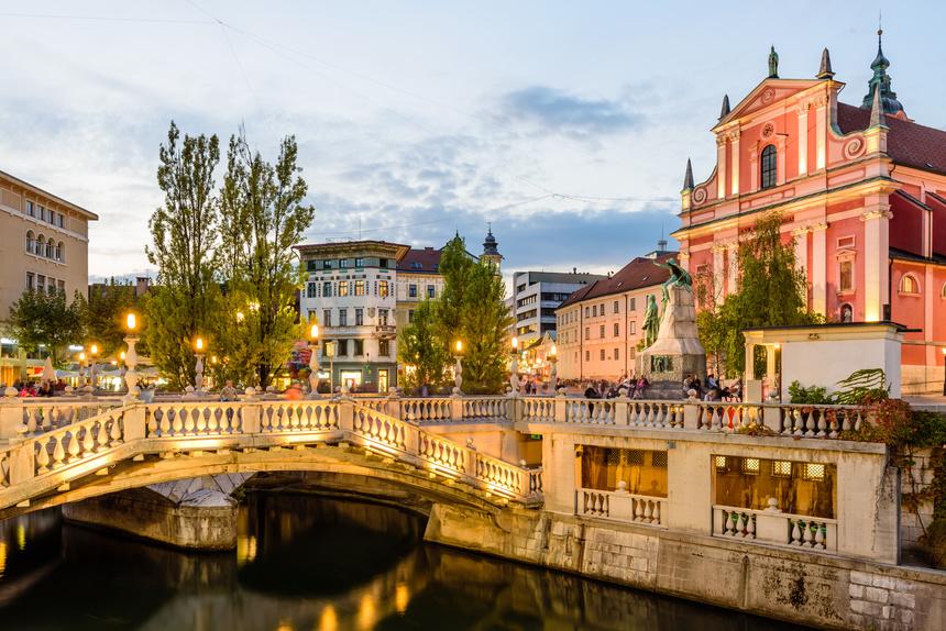 卢布尔雅那(Ljubljana)