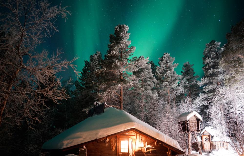 基律纳-特雷姆索丨极地丛林探险与营地烧烤、冰钓、滑雪、雪橇