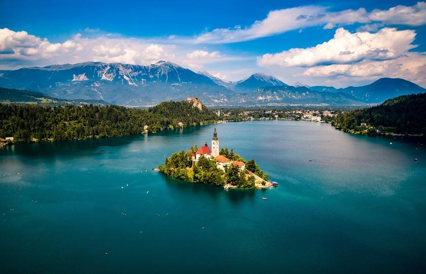 卢布尔雅那(Ljubljana) - 布莱德湖(Lake Bled)